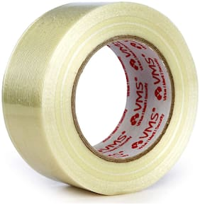 VMS Self Adhesive Strapping Filament Tape High Strength 140Mic (50mm x 45M)