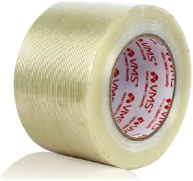 VMS Self Adhesive Strapping Filament Tape High Strength 140Mic (76mm x 45M)