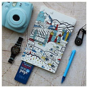 Voyager Travel Notebook, 160 Pages, Size A5 (8.5 X 5.5 inch)