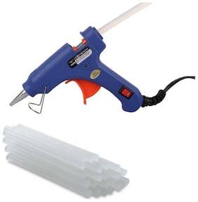 W Wadro Professional 40 W Brand New Hot Melt Glue Gun With 15 Big Transparent Glue Sticks