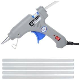 W WADRO Professional 40 W Brand New Hot Melt Glue Gun with 5 BIG Glue Sticks FREE