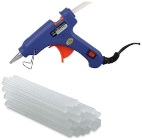 W WADRO Professional 40 W Brand New Hot Melt Glue Gun with 10 BIG Glue Sticks FREE