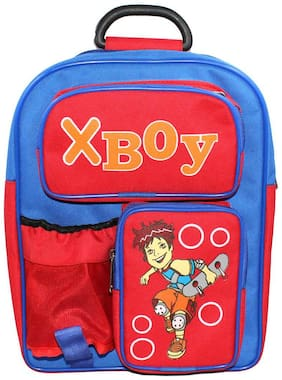 Walson Polyester Red Kids School Bag