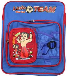 Walson Polyester Blue Kids School Bag