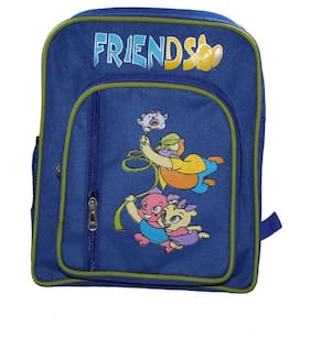 Walson Polyester Blue Kids School Bag