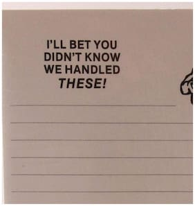 """Warning Adult Humor! Two (2) Write-On Tablets. """"I Bet You Didn't Know""""."""