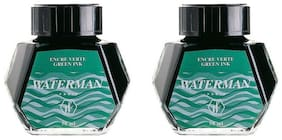 Waterman Ink Bottle Green (Pack of 2)