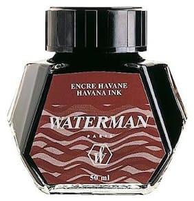 Waterman Ink Bottle;Brown