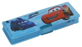 Wimbley double sided Pencil Box for Kids with sharpener for boys and girls