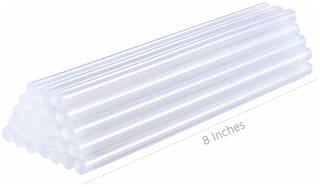 Winner Transparent Glue Sticks (White Glue Sticks 11 mm) for Hot Melt Glue Gun - 20 pcs