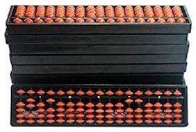 Xtragenius 17 Rod Brown Color Abacus Tool(8 Unit)