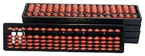 Xtragenius 17 Rod Brown Color Abacus Tool(4 Unit)