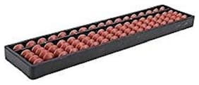 Xtragenius 17 Rod Brown Color Abacus Tool(1 Unit)
