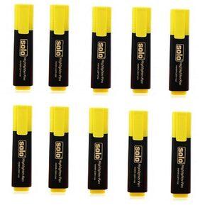 Yellow Highlighter Pen (Pack of 10)