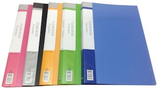 YES Display File With 20 Pockets (Pack Of 2)