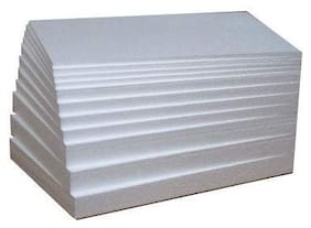 YPACK Thermocol Sheet (A4 SIZE/25 MM;11.7Inch x 8.3 Inch) -6 Sheets White