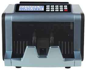 ZEKTRA High Variable Speed Money Counting Machine;with UV;MG;IR Counterfeit Bill Detector & Front Loader