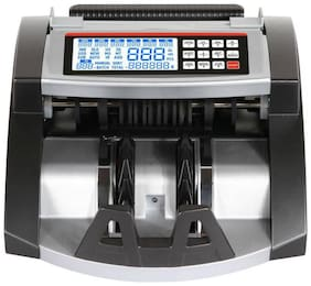 ZEKTRA LCD Digital Electronic Currency Counting Machine with Automatic Fake Note Detector