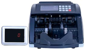 ZEKTRA Note Counting Machine with Fake Note Detector & LCD Display + Color Changing Display