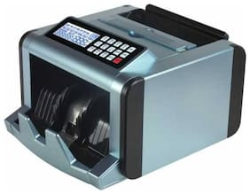 ZEKTRA Notes Counting Machine and Fake Notes Detector with Color Changing LCD Display;Beep Function