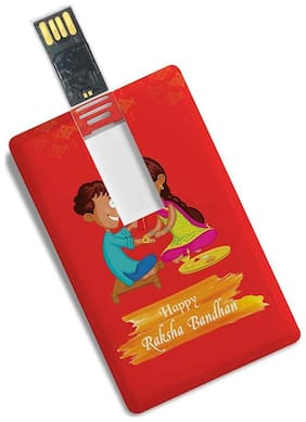 100 yellow exports pen-drive_5513_rakshabandhan_16 16 GB USB 2.0 Pendrive ( Multi )