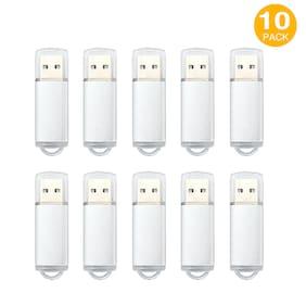 10Pack 1GB 2GB 4GB 8GB 16GB 32GB 64GB USB 2.0 Flash Drives Thumb Memory Storage