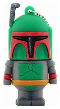 1pc 256GB Boba Fett Star Wars Keychain USB Flash Thumb Drive USA Shipper