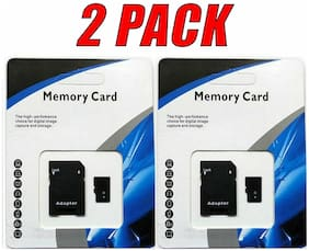 2 - 1TB (1024GB) Universal Micro SD SDHC SDXC TF Flash Memory Cards Class 10