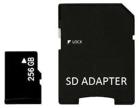 256GB Micro SD SDXC Flash TF Memory Card Class 10 FREE SD Adapter Retail Package