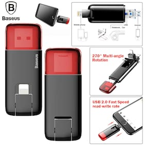 3 in 1 32GB Flash Drive Lightning Adapter USB 2.0 Micro USB U Disk Memory Stick