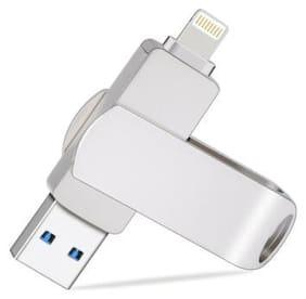 32G/64G/128G USB 3.0 Flash Drive Lightning Memory Stick Dual iOS iPad For iPhone
