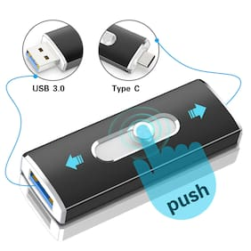 32G 64G Type C USB 3.0 Flash Drive OTG Memory Stick Thumb Pen Drive Storage Disk