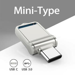64G Dual Type-C OTG 3.0 USB C Port Flash Drive Waterproof Memory Stick Thumb