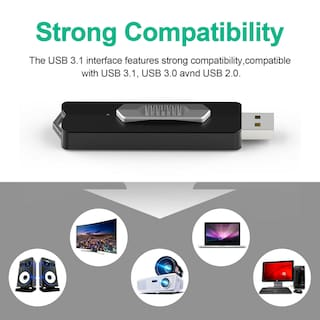 64GB USB 3.1 Flash Drive Solid State Type-A Memory Stick Up to 160MB/S Pen Drive