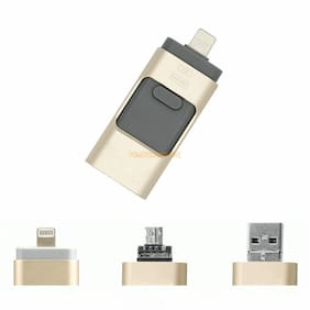 64GB USB iFlash Drive U-Disk USB 3 in 1 OTG Device For Android/iphone/PC IOS