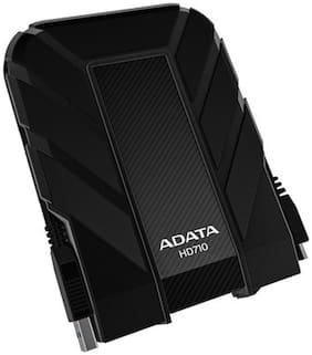 Adata Durable HD710 1 TB Portable External Hard Disk (Black)