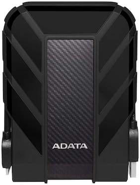 ADATA HD710 4 TB Durable Shockproof External Hard Drive (AHD710P-4TU31-CBK, Black)