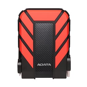 ADATA  HD710Pro 1 TB Portable External Hard Disks (Red)