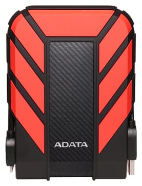 Adata ADT EXT 1TB HD710Pro RED 1 TB USB 2.0 External HDD - Red