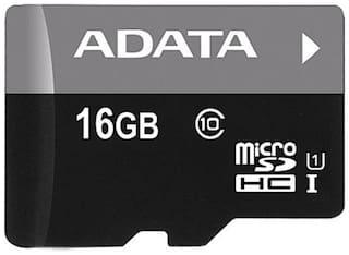 ADATA Premier microSDHC/SDXC UHS-I 16 GB Class 10 Memory Card Black