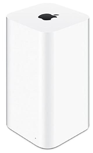 Apple ME182HN/A 3TB Airport Time Capsule Portable External HDD (White)