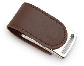 nexShop Leather Metallic Magnetic Flap 16 Gb Usb 2.0 Utility Pendrive