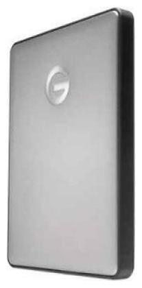 G-Technology G-DRIVE mobile USB-C GDMUCWW10001AHBV2 1 TB Portable Hard Drive - 2