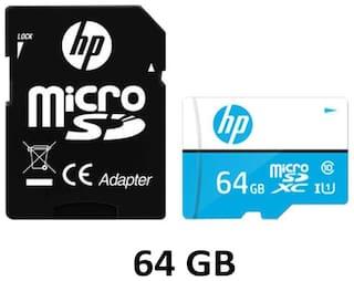 HP 64GB MicroSD Class 10 High Speed Card