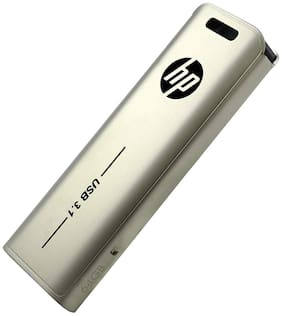HP HPFD796L USB 3.1 Flash Drive 64GB 796L (Metallic)