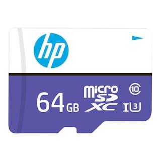 HP 64 GB Class 10 MicroSD Memory Card ( Pack of 1 )