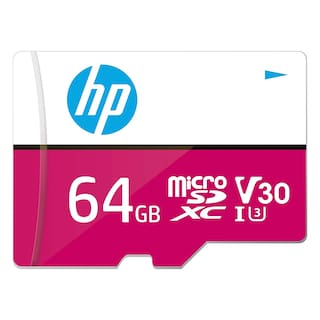 HP 64 GB Class 10 MicroSD Memory Card ( Pack of 1 )