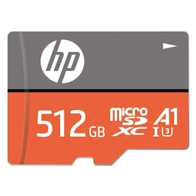 HP 512 GB Class 10 MicroSD Memory Card ( Pack of 1 )