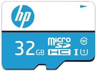 HP MicroSDHC 32 MicroSDHC Class 10 80 Memory Card