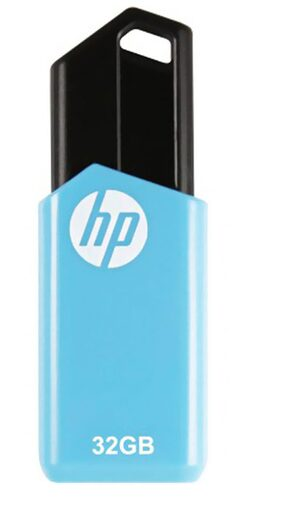 HP V150W USB 2.0 32 GB Utility Pen Drive (Blue)